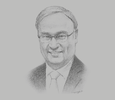 Sketch of Jose Leviste Jr, Chairman, Atlantic, Gulf & Pacific Company
