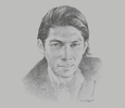 Sketch of Robbie Antonio, Founder, Revolution Precrafted Properties