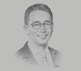 Sketch of Lito Tayag, Country Managing Director, Accenture Philippines; and Chair of the Board of Trustees