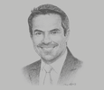 Sketch of Andrés Ortola, Country General Manager, Microsoft Philippines