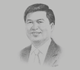 Sketch of Potacio T Tacandong, COO, Reyes Tacandong & Co