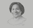 Sketch of Chileshe Kapwepwe, Secretary-General, COMESA