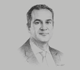 Sketch of Walid Saibi, General Manager, Tunisie Valeurs