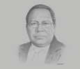Sketch of Loi Bakani, Governor, Bank of Papua New Guinea