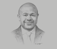 Sketch of Anthony Smaré, Chairman, Nambawan Super