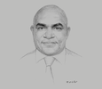 Sketch of Wapu Sonk, Managing Director, Kumul Petroleum