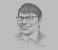 Sketch of Jonathan Seeto, Territory Senior Partner, PwC