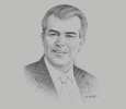 Sketch of Francisco Cervantes, President, National Confederation of Industry Chambers