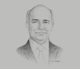 Sketch of Eduardo Sojo Garza-Aldape, Director-General, National Laboratory of Public Policy at the Centre for Research and Teaching in Economics