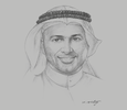 Sketch of Mohamed Al Osaimi, Acting CEO, Boursa Kuwait