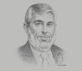 Sketch of Emad Sultan, CEO, Kuwait Oil Company (KOC)