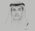 Sketch of Salim Al Ozainah, Chairman and CEO, Communication and Information Technology Regulatory Authority (CITRA)