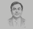 Sketch of Alok Chugh, Partner, Government and Public Sector Leader MENA, EY