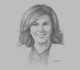 Sketch of Elissar Farah Antonios, Cluster Head UAE, Levant and Iraq, Citi