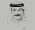 Sketch of Sultan Ahmed bin Sulayem, Group Chairman and CEO, DP World; Chairman, Dubai Maritime City Authority; and Chairman, Virgin Hyperloop One