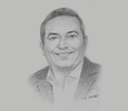 Sketch of Mark Schofield, Partner, PwC Middle East Tax & Legal Services Leader