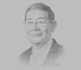 Sketch of U Soe Win, Minister of Planning, Finance and Industry
