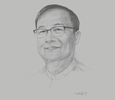 Sketch of U Thant Sin Maung, Minister for Transport and Communications
