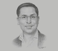 Sketch of Alok Kumar, Group CEO, Oway