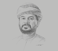 Sketch of  Talal Al Mamari, CEO, Omantel