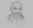 Sketch of Yofi Grant, CEO, Ghana Investment Promotion Centre (GIPC)