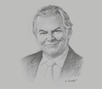 Sketch of Nick Holland, CEO and Executive Director, Gold Fields