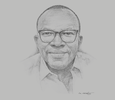 Sketch of Kojo Aduhene, CEO, LMI Holdings