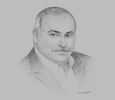 Sketch of Mohamed Samara, CEO, Meridian Port Services