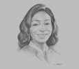 Sketch of Adelaide Benneh Prempeh, Managing Partner, B&P Associates