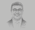 Sketch of Hicham Boudraa, Acting Managing Director, Moroccan Investment and Export Development Agency