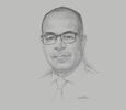 Sketch of Mohammed Drissi Melyani, CEO, Digital Development Agency