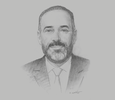 Sketch of Kamal Mokdad, CEO and Head of International Global Banking, Banque Centrale Populaire
