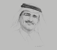 Sketch of Bader Al-Darwish, Chairman and Managing Director, Fifty One East