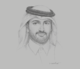 Sketch of Ali Al Waleed Al Thani, CEO, Investment Promotion Agency (IPA)