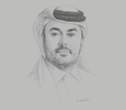 Sketch of Ramez Al Khayyat, Vice-Chairman and Group CEO, Power International Holding