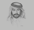 Sketch of Abdulrahman M Darwish, CEO, KBM Group Qatar