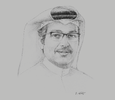 Sketch of Mohammed Ali Al Mannai, President, Communications Regulatory Authority (CRA)