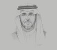 Sketch of Saad bin Othman Al Kasabi, Governor, Saudi Standards, Metrology and Quality Organisation (SASO)