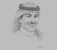 Sketch of Anas Alfaris, President, King Abdulaziz City for Science and Technology (KACST)