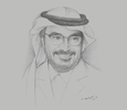 Sketch of Mohammed Yousuf Naghi, Chairman of the Board of Directors, Jeddah Chamber of Commerce and Industry (JCCI)