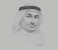 Sketch of Mohammed Al Mowkley, CEO, National Water Company (NWC)