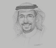 Sketch of Bandar Alkhorayef, Minister of Industry and Mineral Resources