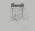 Sketch of Ibrahim Almojel, CEO, Saudi Industrial Development Fund (SIDF)