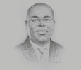 Sketch of Eric Kacou, CEO, Entrepreneurial Solutions Partners
