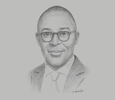 Sketch of Niamkey Isidore Tanoé, CEO, Atlantique Finance