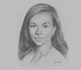 Sketch of Laureen Kouassi-Olsson, Regional Head for West and Central Africa, Amethis