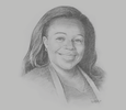 Sketch of Christine Logbo-Kossi, Executive Director, Chamber of Mines of Côte d'Ivoire