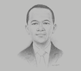 Sketch of Bahlil Lahadalia, Chairman, Indonesia Investment Coordinating Board (BKPM)