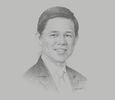 Sketch of Chan Chun Sing, Minister for Trade and Industry of Singapore