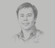 Sketch of Jemmy Paul Wawointana, President Director, Sucor Asset Management